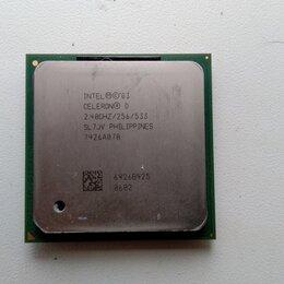 Процессоры (CPU) - Процессор Intel Celeron D 320 2.40GHZ 256/533, SL7JV (б/у), 0
