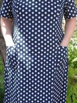 Домашняя одежда - Платья (разные). С карманами. Новые, 0