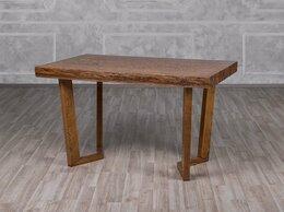 Столы и столики - Стол Крафт-СМ  Оримэкс( Светлый дуб с черной…, 0