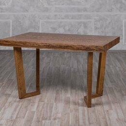 Столы и столики - Стол Крафт-СМ  Оримэкс( Светлый дуб с черной патиной ), 0