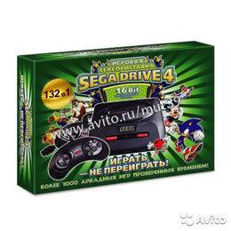 Ретро-консоли и электронные игры - Сега Sega Super Drive 4, приставка, 132 игры в 1, 0