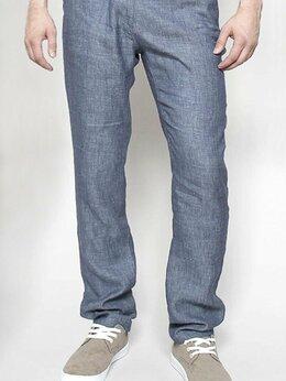 Брюки - Летние брюки чинос  W5764 DENIM_BLUE, 0