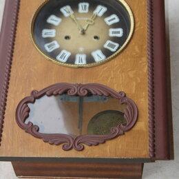 Часы настольные и каминные - часы с боем янтарь, 0