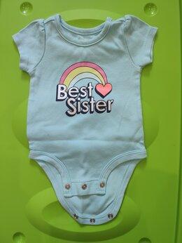 Боди - Боди Carter's для девочки до 3 месяцев, 0