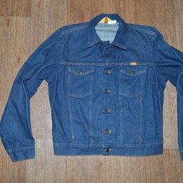 Куртки - Куртка джинсовая Rustler, Made in USA, 80-е, 0