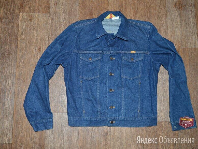 Куртка джинсовая Rustler, Made in USA, 80-е по цене 10000₽ - Куртки, фото 0