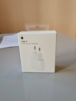 Зарядные устройства и адаптеры - Адаптер питания Apple USB-C 20Вт, 0