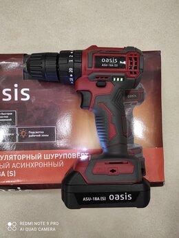 Шуруповерты - 📢🔥 Бесщеточный шуруповерт OASIS ASU-18A (s), 0