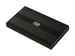 """Внешние жесткие диски и SSD - Внешний корпус 2.5"""" SATAIII AgeStar 3UB2S (BLACK) , 0"""