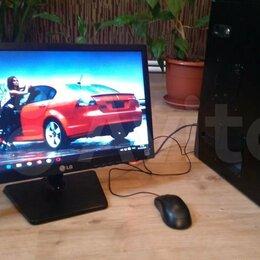 Настольные компьютеры - Игровой пк процессор Xeon (аналог i7) с монитором ЖК, 0