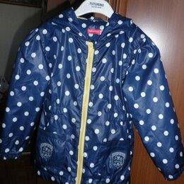 Пальто и плащи - Куртка-ветровка (парка) для девочки 110,  Футурино, 0