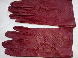 Перчатки и варежки - Женские перчатки, натуральная козья кожа. р.S, 0