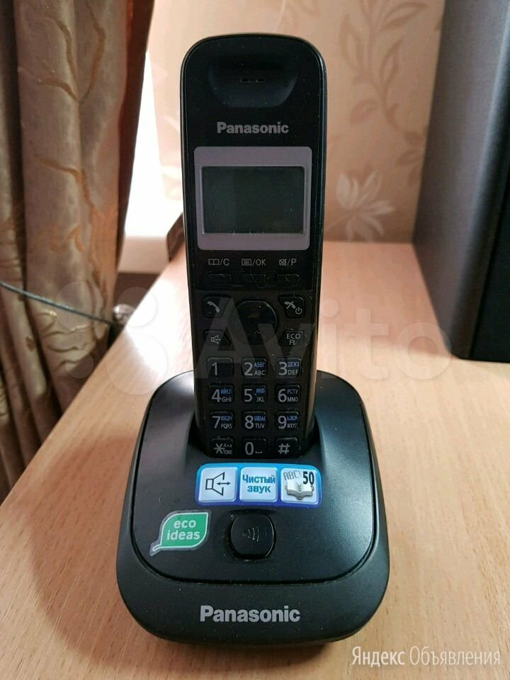 Радиотелефон Panasonic KX-TG2511UA по цене 499₽ - Проводные телефоны, фото 0