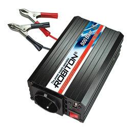 Стабилизаторы напряжения - Инвертор 12V-220V ROBITON R500, 0