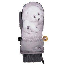 Перчатки и варежки - Детские горные варежки VIKING Glade light grey 2020-21, 0