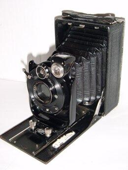 Пленочные фотоаппараты - Фотоаппарат ZEISS IKON Taxo 122/3 6x9cm Lens…, 0