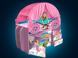 Кроватки - Кровать чердак детская кровать машина для мальчика, 0
