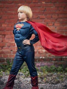 Карнавальные и театральные костюмы - Костюм Супермена с мускулами на 4-8 лет, 0