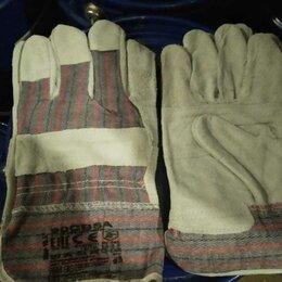Средства индивидуальной защиты - Перчатки спилковые комбинированные , 0