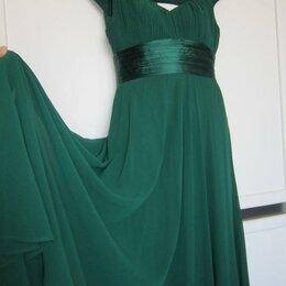 Платья - Изумрудное платье макси, 0