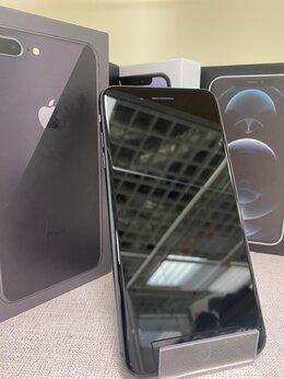 Мобильные телефоны - iPhone 7 Plus Black 128gb б/у Ростест, 0