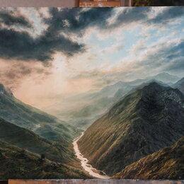 Картины, постеры, гобелены, панно - В горах после дождя, 0