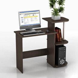 Компьютерные и письменные столы - Компьютерный стол КС 11С Фламинго, 0