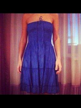 Платья - Сарафан новый 44 46 синий клеш платье туника…, 0