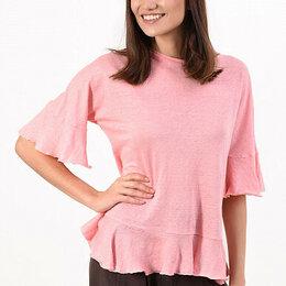 Блузки и кофточки - Блузка льняной трикотаж, 0