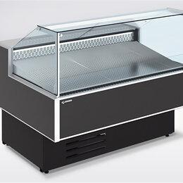 Холодильные витрины - Холодильная витрина Gamma Quadro Fish 1200, 0