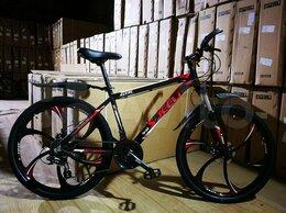 Велосипеды - Новый алюминиевый велосипед на литых дисках, 0