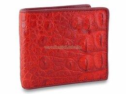 Кошельки - Красный мужской кошелек из натуральной кожи…, 0