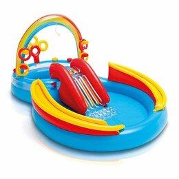 Надувные комплексы и батуты - Детский игровой центр Intex 57453 Радуга 3+, 0