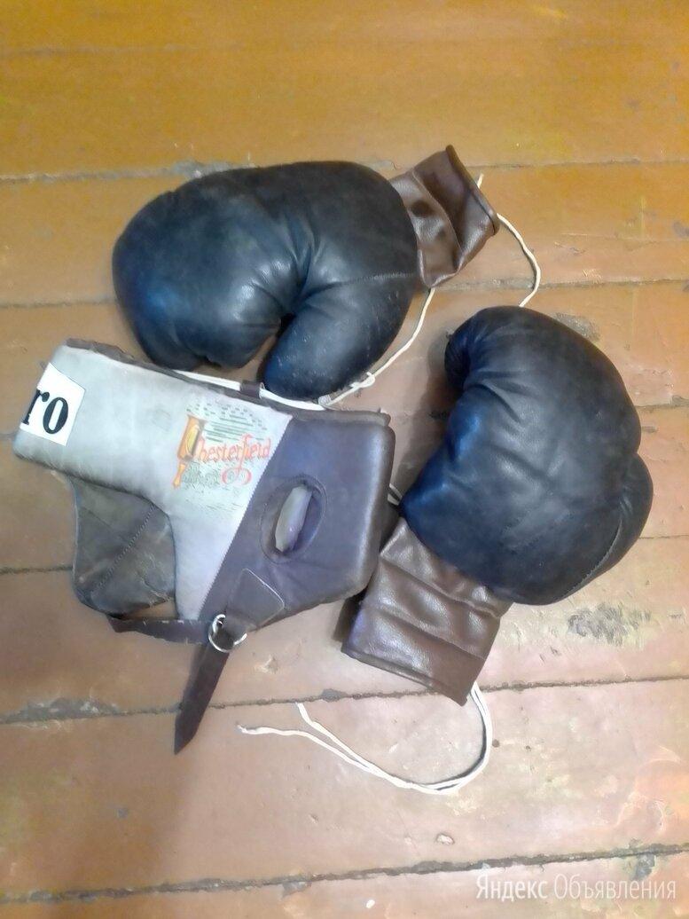 Боксерские перчатки и защитный шлем по цене 2000₽ - Боксерские перчатки, фото 0