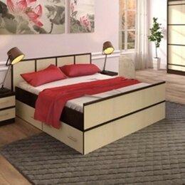 Кровати - Кровать Сакура 1,6 м с ящиками, 0