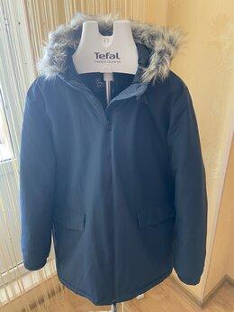 Пуховики - Зимняя оригинальная мужская куртка adidas,, 0