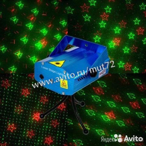 Лазерный проектор по цене 990₽ - Световое и сценическое оборудование, фото 0
