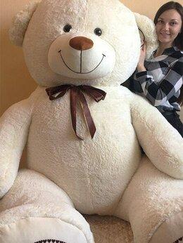 Мягкие игрушки - Гигантский плюшевый медведь 270 см с бантом, 0