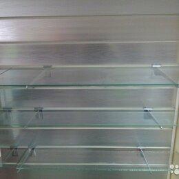 Витрины - Полка стекляная, кромка обработаная, углы закруглены 810*310*5, 0