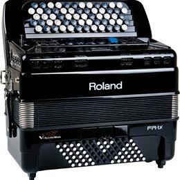 Клавишные инструменты - Цифровой баян Roland FR 1XB RED/BK, 0