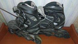 Роликовые коньки - Ролики черные 42 р М, 0