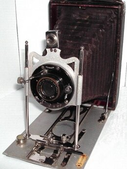 Пленочные фотоаппараты - Складная камера Conley JUNIOR WOLLENSAK…, 0