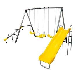 Игровые и спортивные комплексы и горки - Детский уличный комплекс DFC 74560, 0