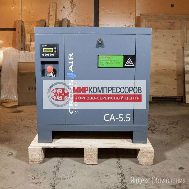 Винтовой компрессор 5.5 кВт 600 л/мин по цене 115000₽ - Воздушные компрессоры, фото 0