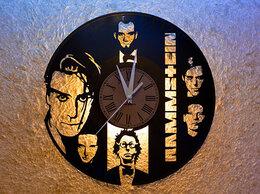 Часы настенные - Часы из виниловой пластинки с группой Rammstein…, 0