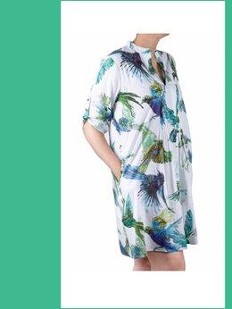 Пляжная одежда - Туника женская новая пляжная с принтом…, 0