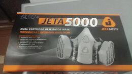 Средства индивидуальной защиты - Полумаска с двойным фильтром JETA 5000, 0