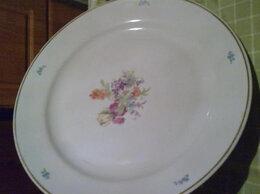 Блюда и салатники - Большое! блюдо (37 см). Дулево, 0
