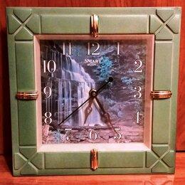 Часы настенные - Часы настенные, электронные со сменным фото., 0