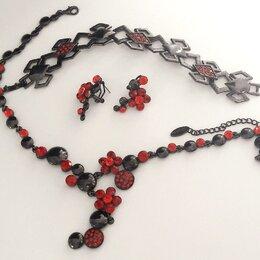 Комплекты - Набор бижутерии (Ожерелье, серьги, браслет), 0